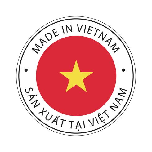 Made in Vietnam flag icon.