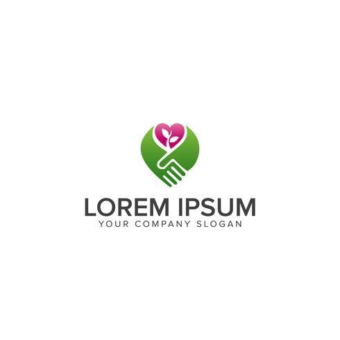 Design de logotipo para negócios ou site relacionado à agricultura ou ga