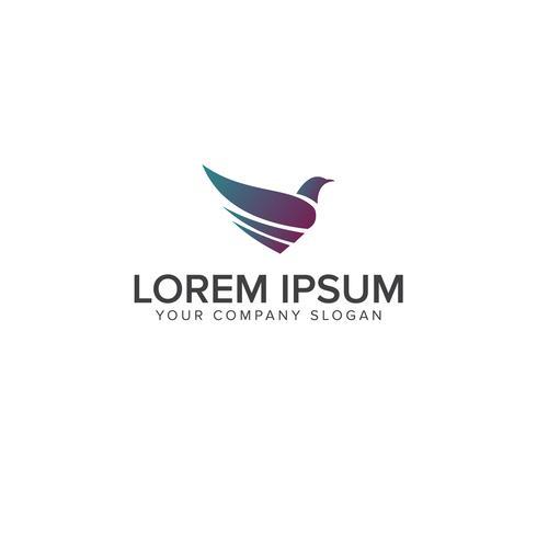 Vogel-Logo-Design-Konzept-Vorlage