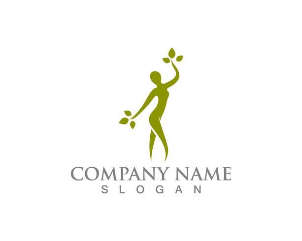 Salon woman  logo and symbols