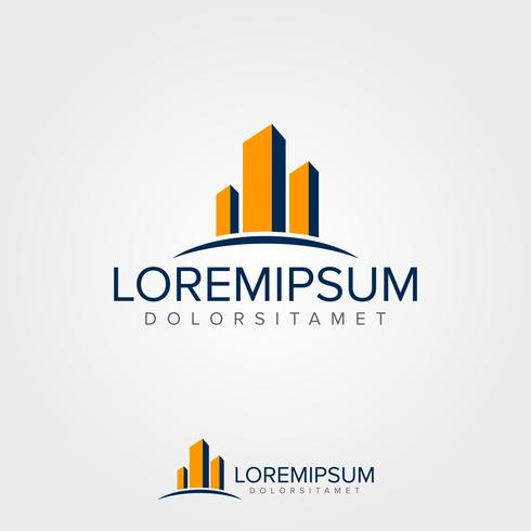 Immobilier Logo Concept