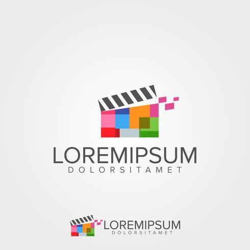 Medios Video Logo Concept