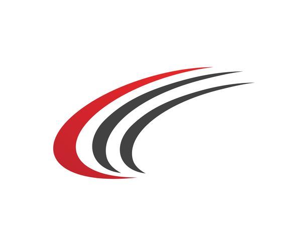 Faster C Logo Template Design Vecteur