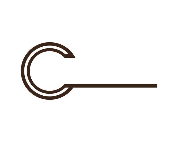 Letra C Logo plantilla diseño vectorial ... vector