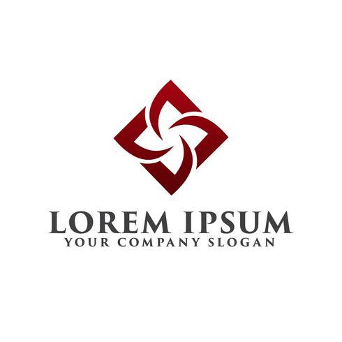 Logotipo da construção. modelo de conceito de design de logotipo interior