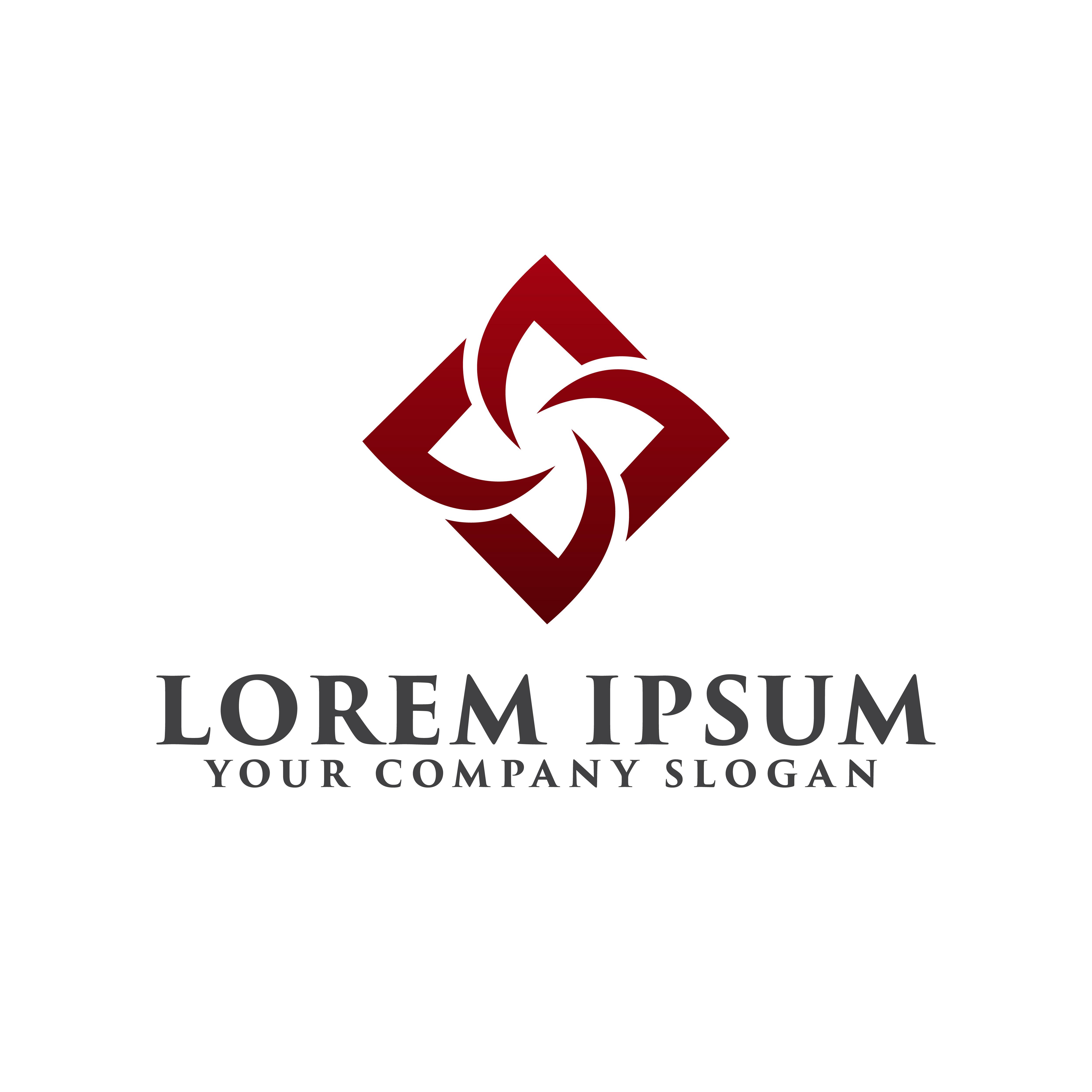Construction Logo . Interior Logo Design Concept Template