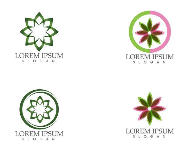 blad groen natuur logo en symbool sjabloon Vector ..