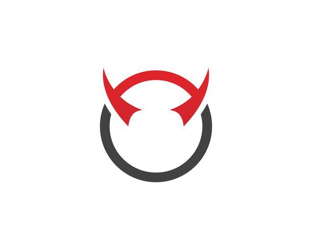 Icone di modello di logo e simboli di corno di toro app ..