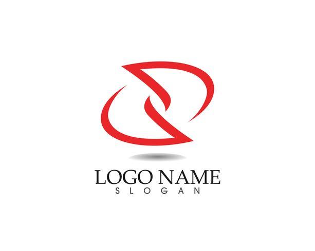 Plantilla e iconos abstractos del diseño del logotipo del negocio vector