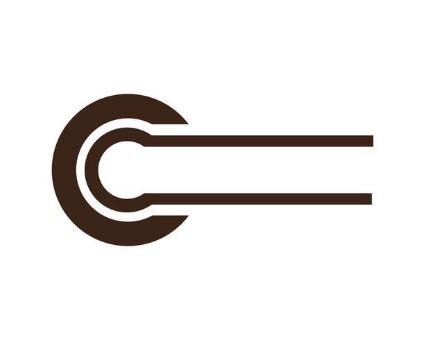 Lettera C Logo Template Design Vector ..