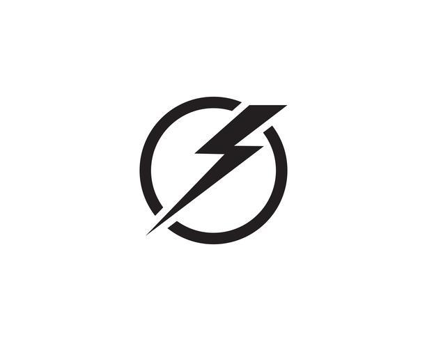 Rayo logo icono y símbolo