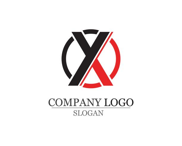 X brief Logo sjabloon vector pictogram ontwerp app