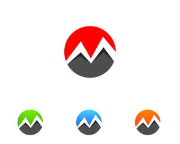 Logotipo M carta vetor ícones tais logotipos modelo