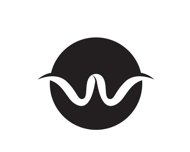 W letters business logo and symbols template..