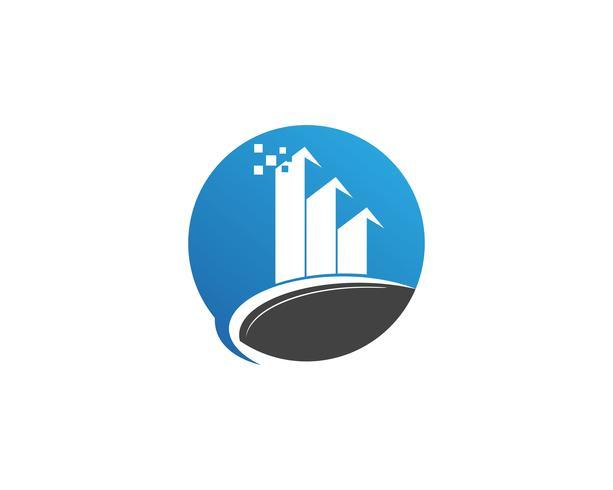 Iconos de plantilla de logotipo y símbolos de negocio