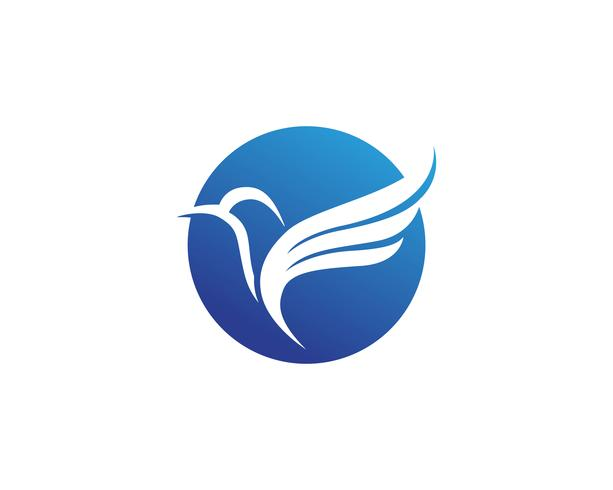 Asas bird sign resumo modelo ícones app