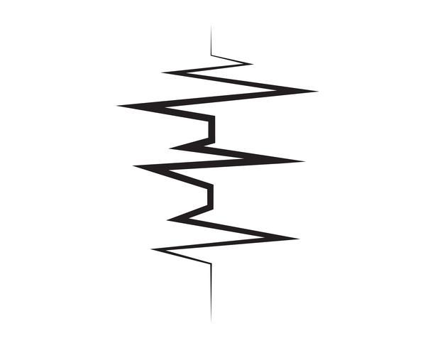 Musiknoter symboler logotyp och ikoner mall