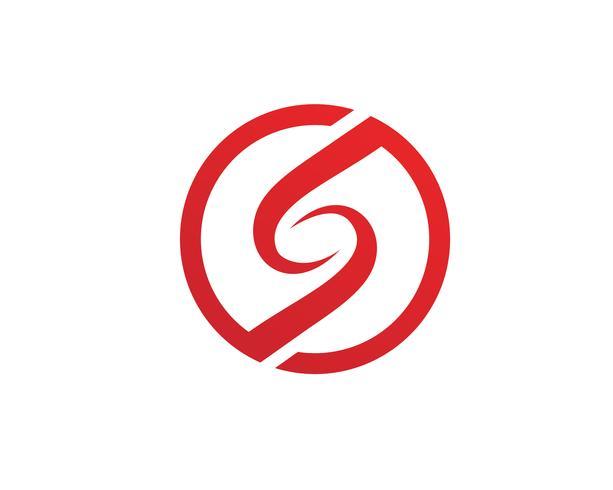 S logo en symbolen sjabloon vector pictogrammen ..