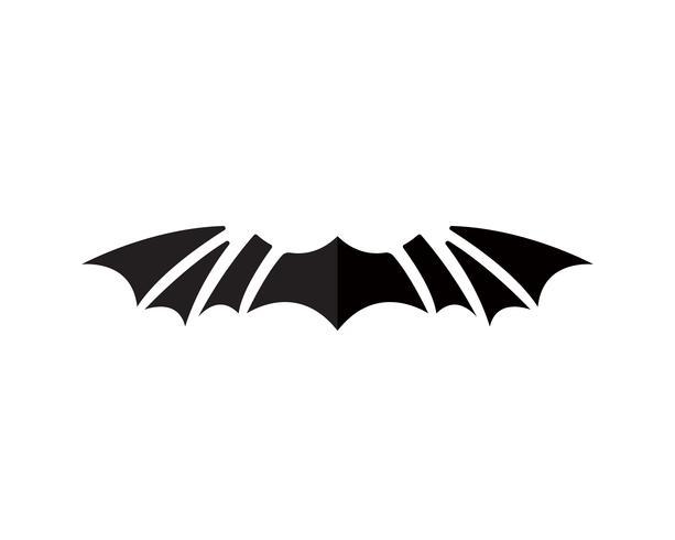 Iconos de plantilla de aplicación de logotipo y símbolos de alas