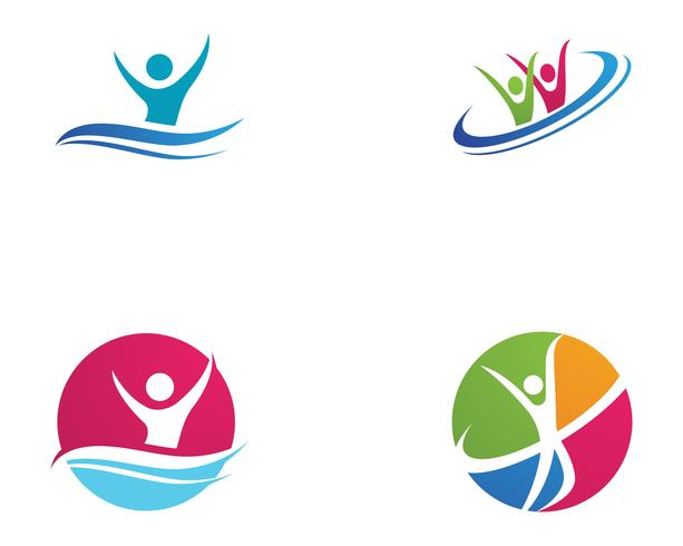 Community people care logo and symbols template ,,