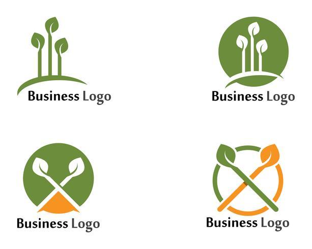Icono de árbol Vector de plantilla de diseño de ilustración de icono