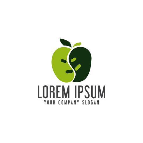 appel logo ontwerpsjabloon concept