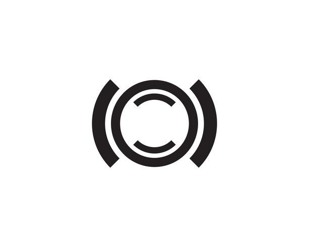 Application de lettre C Logo Template Design Vector