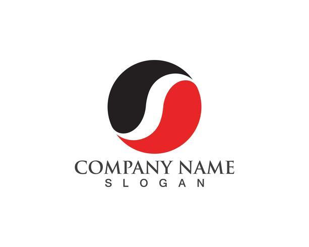 S logo et symboles icônes vectorielles modèle