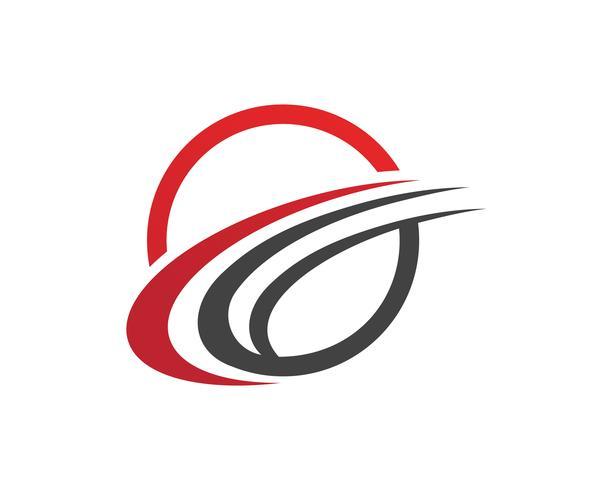 Mais rápido C Logo Template Design Vector