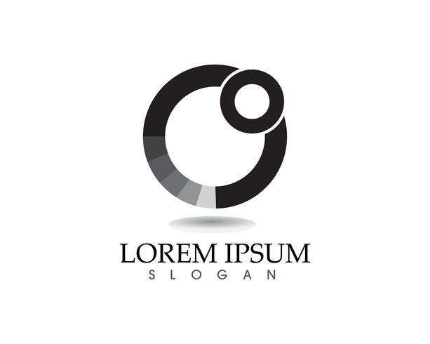 Zon logo en symbolen ster pictogram web Vector - app