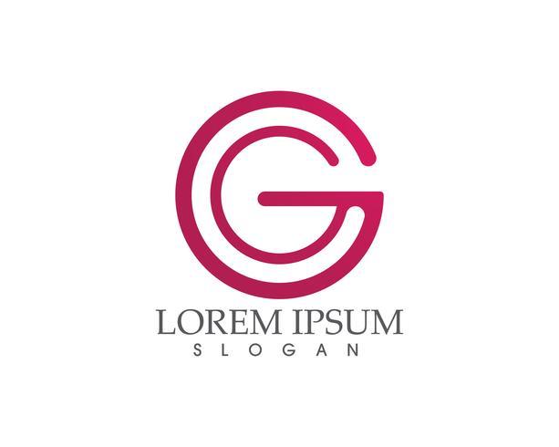 G Logo und Symbole Vorlage Symbole App Buchstaben ,,