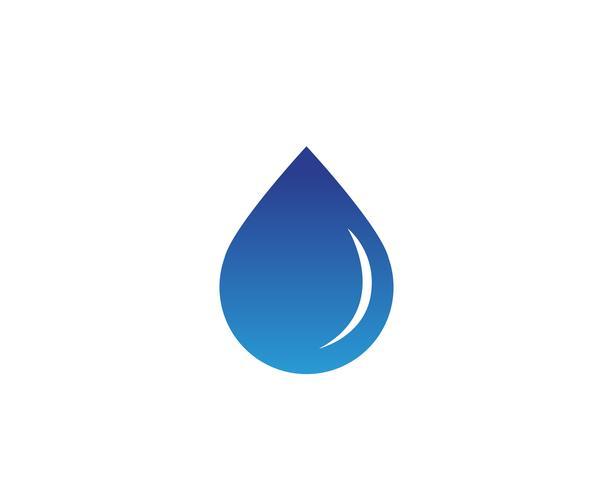 Vatten natur logotyp och symboler mall ikoner app,