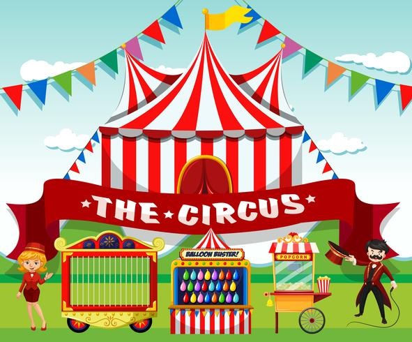 Un lindo fondo de circo
