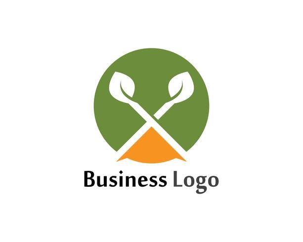 Tree Leaf Vector icon Illustration design mall