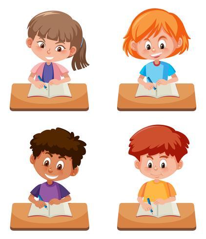 Una serie di studi per studenti