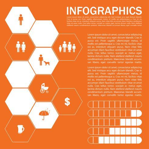 Un'infografica di umani