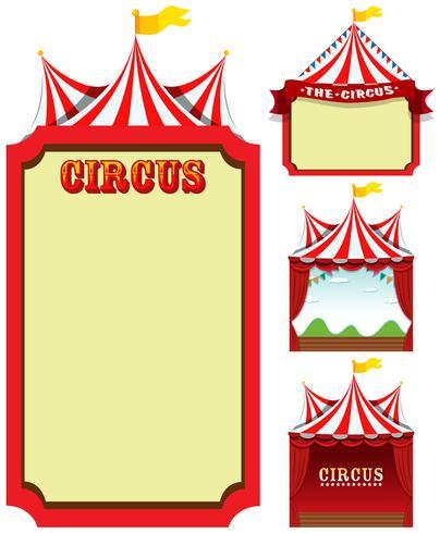 Sats med cirkusmall