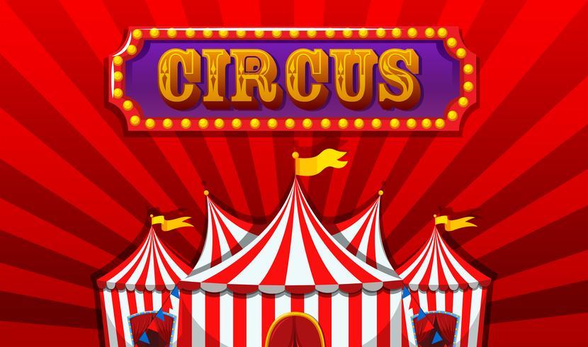 En fantasy cirkus banner