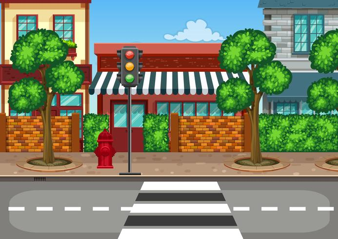 Street View Clipart