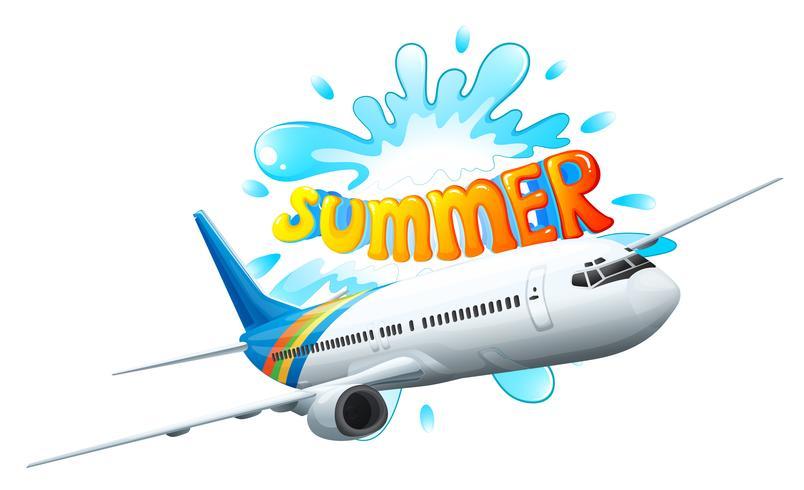 Una aventura en avión para el verano.