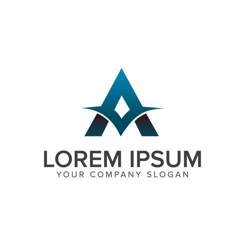 Letter A Logo ontwerpsjabloon