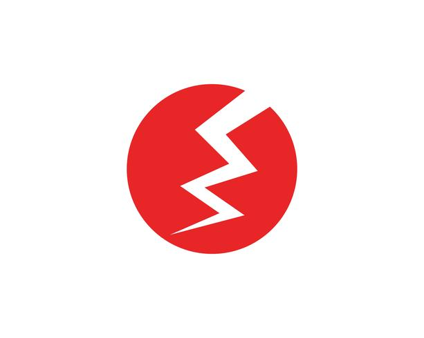 lightning logo and symbols