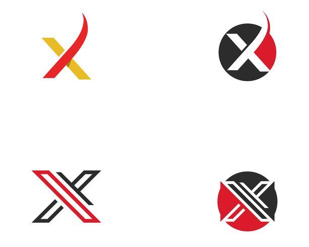 Vetor do logotipo X