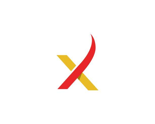 X Logo vector