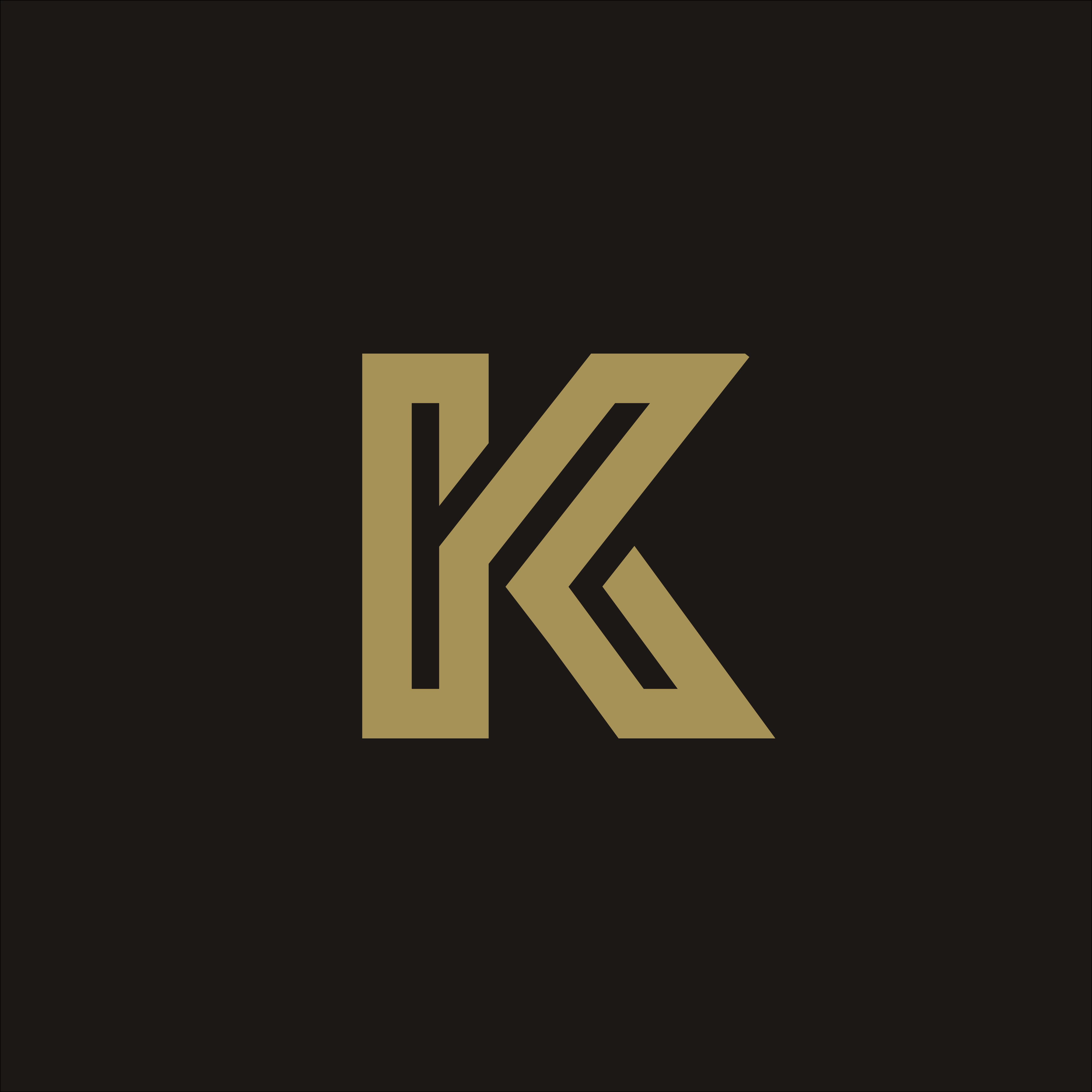 Modern Letter K Logo Concept: Luxury Letter K Logo Design Concept Template 606536