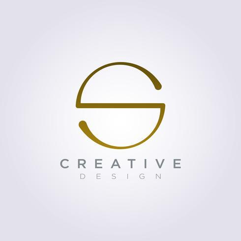 Letter S Vector Illustration Design Clipart Symbol Logo Template