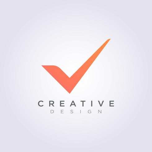 Checklist en Mark Vector Illustratie ontwerp Clipart symbool Logo sjabloon