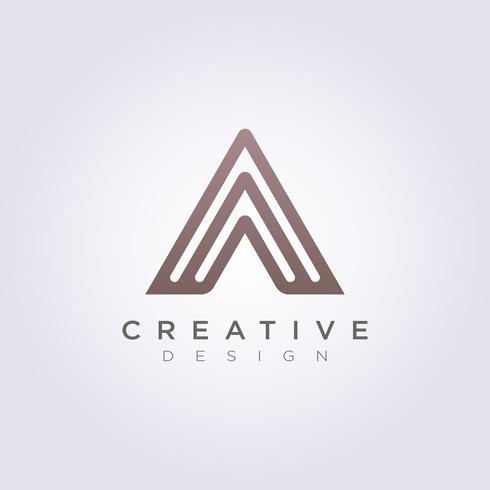 Abstract Triangle Vector Illustration Design Clipart Logo Logo Template
