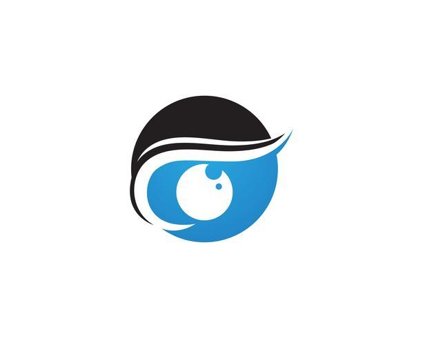 Oog zorg logo en symbolen sjabloon vector pictogrammen app