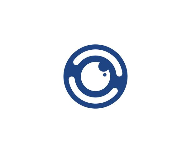 Oog logo vector
